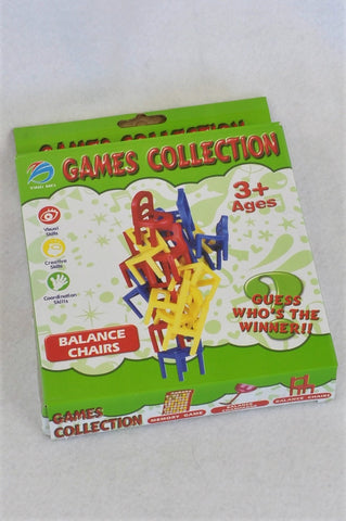 Unbranded 18 Piece Balance Chairs Game Unisex 3-6 years