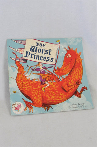 Simon And Schuster The Worst Princess Paperback Book Girls 2-6 years