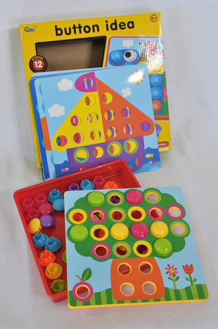 QML Button Ideas Toy Unisex 3-7 years