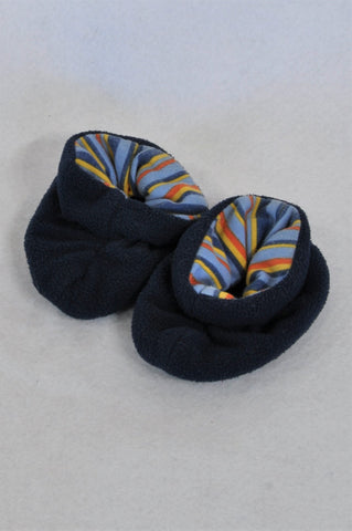 Unbranded Navy Slippers Boys Infant Size 1