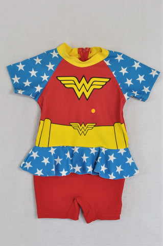 DC Comics Wonder Woman Swimming Costume Girls 9-12 months