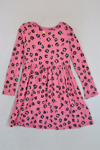 Unbranded Pink & Black Leopard Print Cape Dress up Girls 3+ years