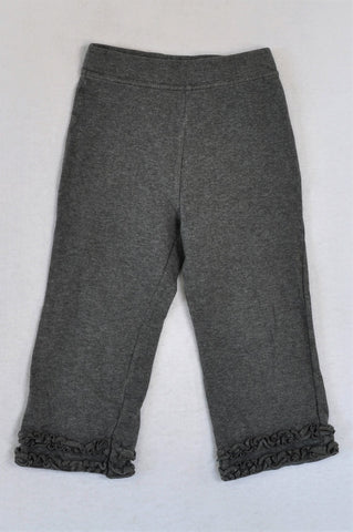George Grey Frill Stretch Pants Girls 3-4 years