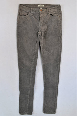 Country Road Grey Velour Pants Women Size 8