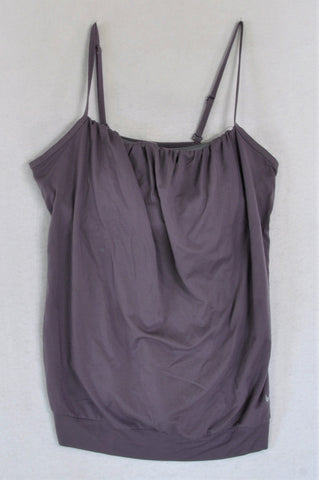 Nike Purple With Inner Support Sports Top Women Size M