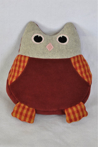 Red Owl Pillow Decor Girls 6 to 16 years