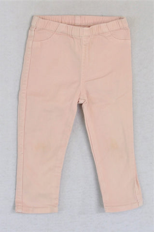 Country Road Light Pink Jeggings Girls 6-12 months