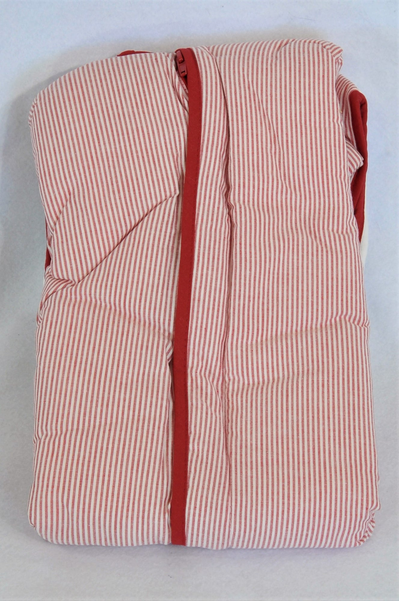 New Ikea Fabler Red Pinstripe 2.5 Tog Sleep Sack Unisex 6-18 months