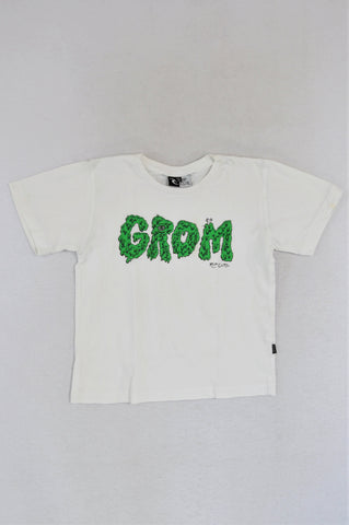 Ripcurl White Grom T-shirt Boys 5-6 years