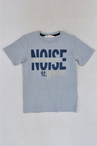 H&M Light Blue Make Some Noise T-shirt Boys 4-6 years