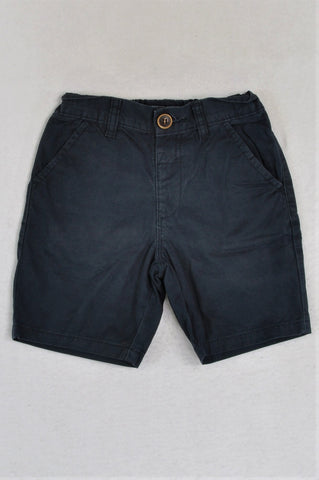 Next Navy Lightweight Shorts Boys 5-6 years