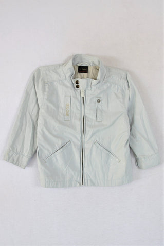 Next Light Grey Jacket Boys 2-3 years