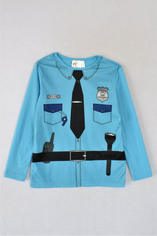 H&M Police Dress Up Top Boys 4-5 years