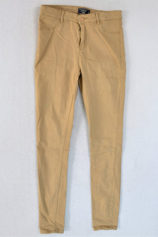 1996 Denim Co. Beige Mid Rise Pants Women Size 12