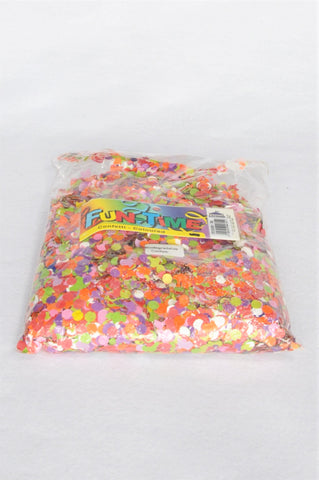 New Fun-Time Bag of Colourful Biodegradable Confetti Unisex All Ages