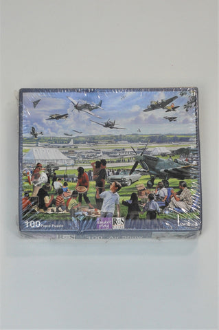 New RGS Group 100 Piece Air Show Puzzle Unisex 3-10 years