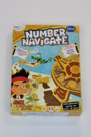 Worlds Apart Number Navigate Game Unisex 3-10 years