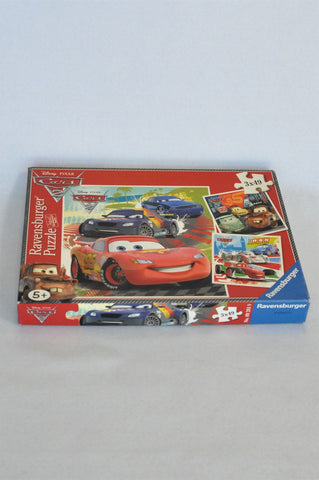 Ravensburger 3 X 49 Piece Cars Puzzle Unisex 3-10 years