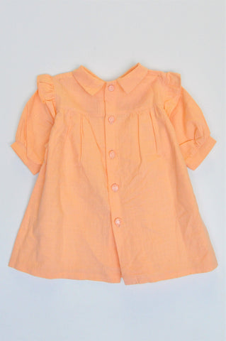 Unbranded Orange Lightweight Top Girls 2-3 years