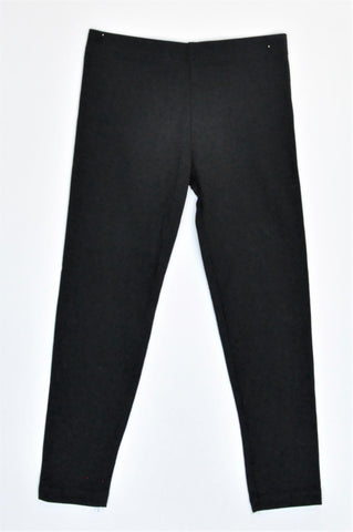 Young Dimension Black Basic Leggings Girls 5-6 years