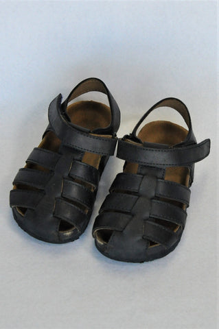 Country Road Navy Strappy Sandals Boys 18-24 months