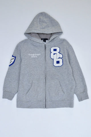 GAP Grey Varsity League Jacket Boys 6-7 years