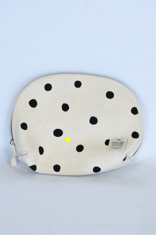 Typo Beige & Black Spotted Toiletry Bag Girls 10+ years