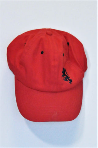 Pringle Of Scotland Red Peak Hat Boys 8-10 years