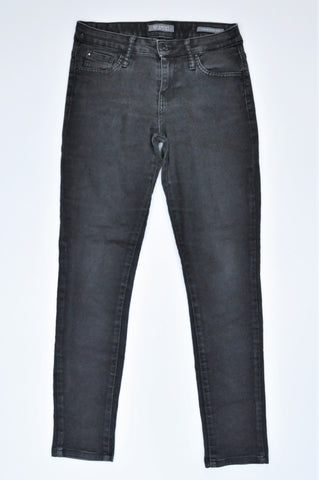 Guess Black Mid Rise Skinny Jeans Women Size 8