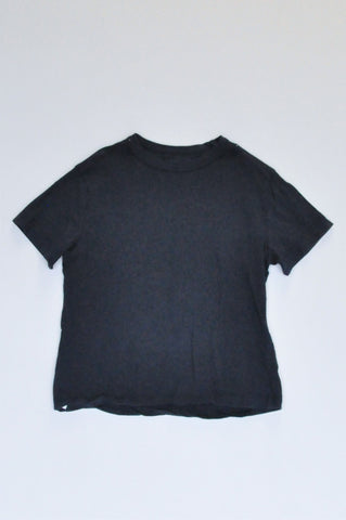 Woolworths Navy Basic T-shirt Boys 4-5 years