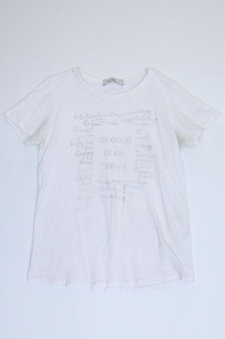 Pick 'n Pay White See Good In All Things T-shirt Women Size S