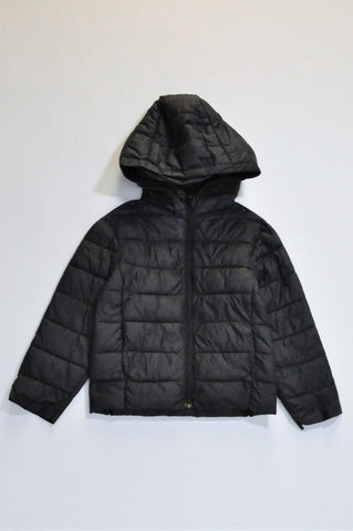 Pick 'n Pay Black Hooded Puffer Jacket Boys 3-4 years