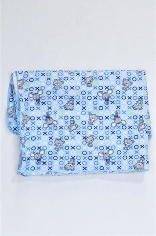 Woolworths Blue Patterned Blanket Boys N-B to 18 months