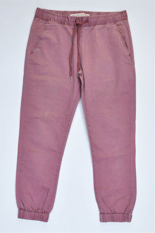 Cotton On Pink Cuffed Chinos Women Size 10