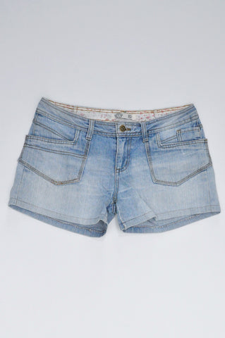 Mr. Price Light Denim Shorts Women Size 12