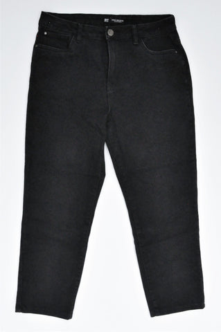 Mr. Price Black Stretch Cropped Skinny Jeans Women Size 12
