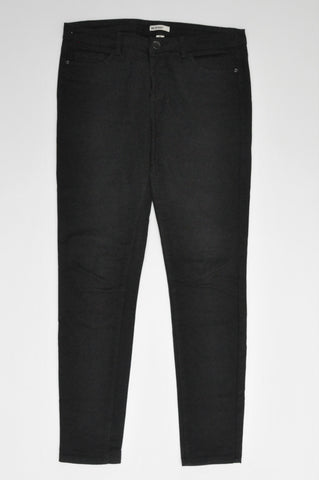 Woolworths Black Basic Stretch Skinny Jeans Women Size 12