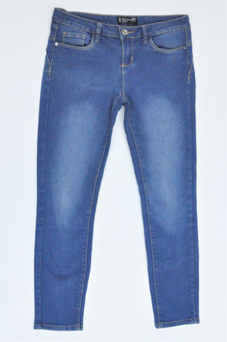 Mr. Price Dark Blue Body Shaping Push Up Denim Skinny Jeans Women Size 8