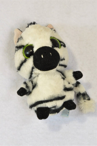 YooHoo & Friends Black & White Zebra Plush Toy Unisex 3-10 years