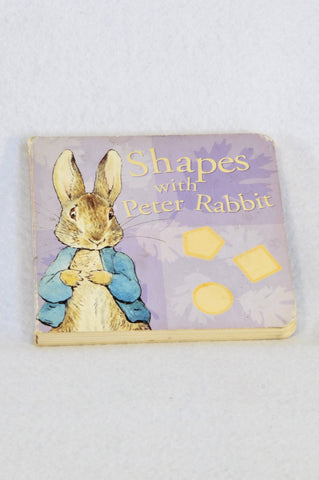 Beatrix Potter Hardcover Shapes with Peter Rabbit Book Unisex 6 months to 3 years