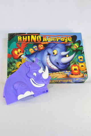 Mattel Rhino Rampage Family Game Unisex 4-10 years