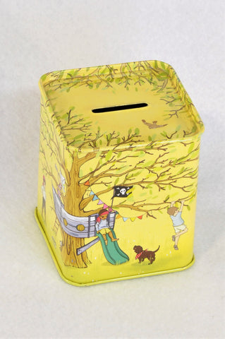 Unbranded Belle & Boo Treehouse Tin Money Box Accessory Unisex 3-10 years