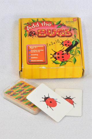 Smile Education Add The Bugs Game Unisex 4-10 years