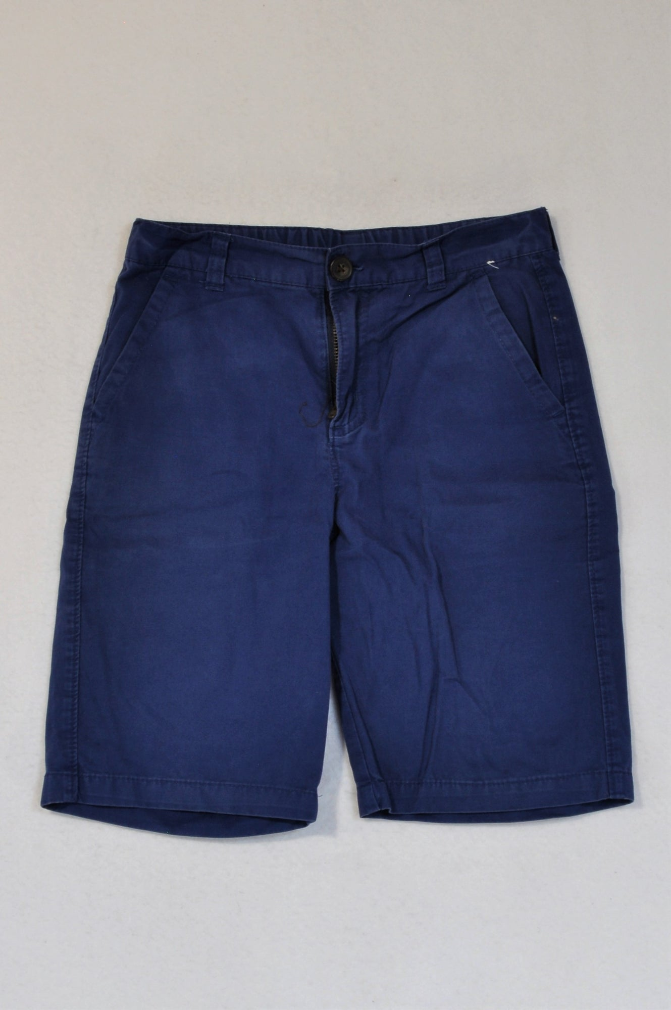 Gymboree Blue Intentional Fade Shorts Boys 9-10 years