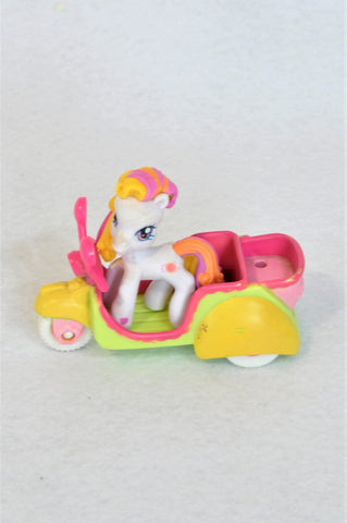 Hasbro White My Little Pony & Scooter Toy Girls 3-10 years