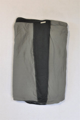 Baby Sense Grey & Charcoal Wrap Baby Carrier Women One Size