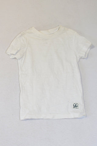 Pick 'n Pay Basic White Born To Ride T-shirt Boys 3-4 years