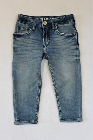 H&M Denim Tapered Leg Jeans Unisex 2-3 years