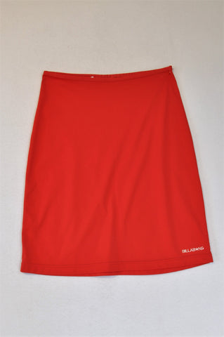 Billabong Red Swimwear Skirt Cover Up Women Size S