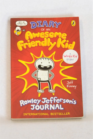 Puffin Paperback Diary of a an Awesome Friendly Kid Book Unisex 7-14 years